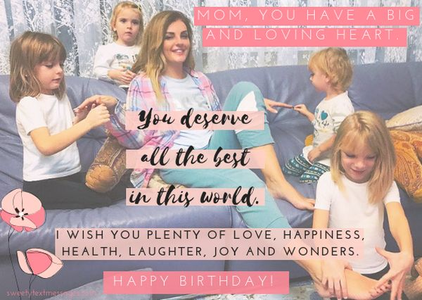 Happy birthday dear Mother wishes from daughters