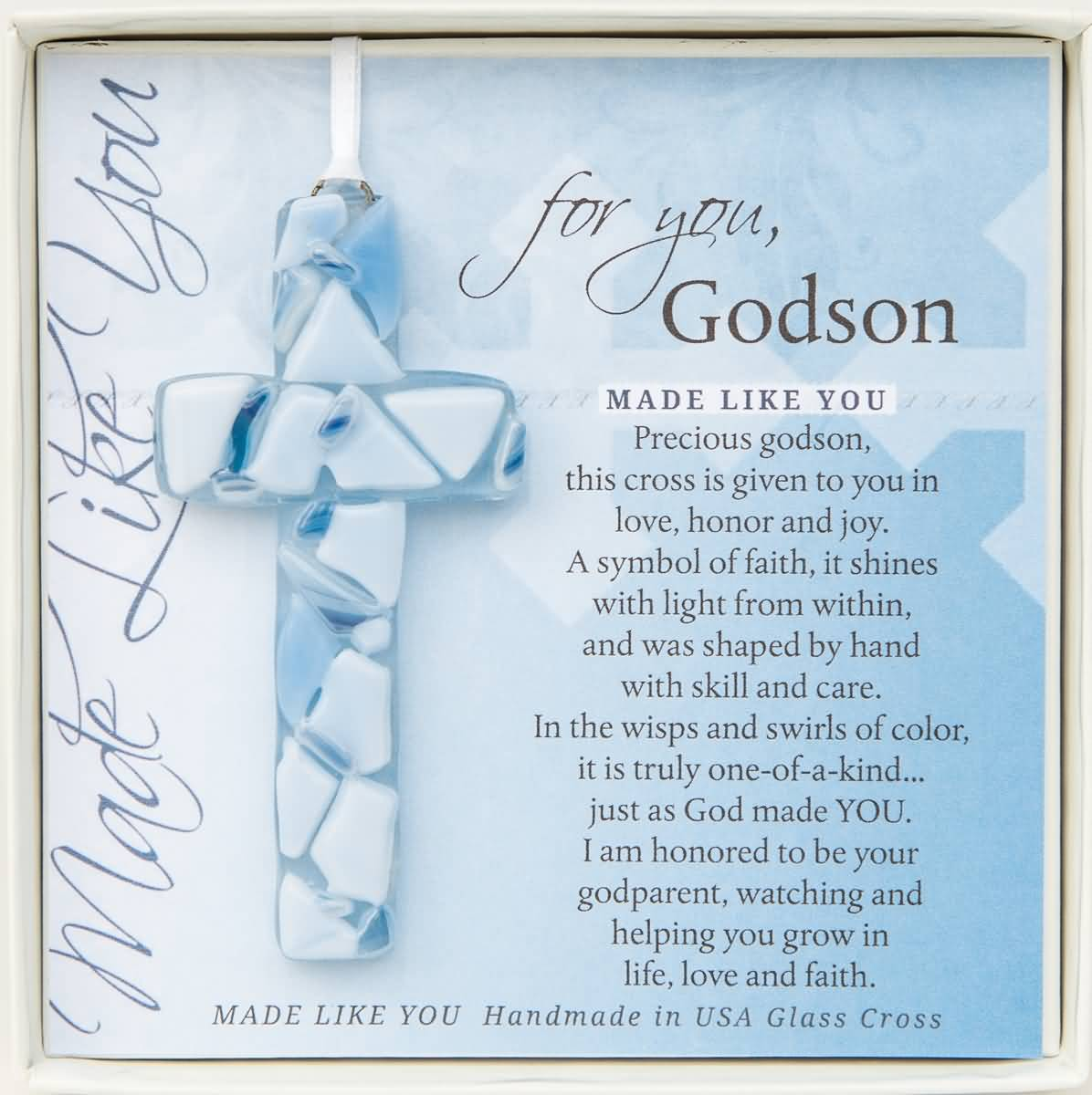 Happy birthday greetings  for Godson made like you from father