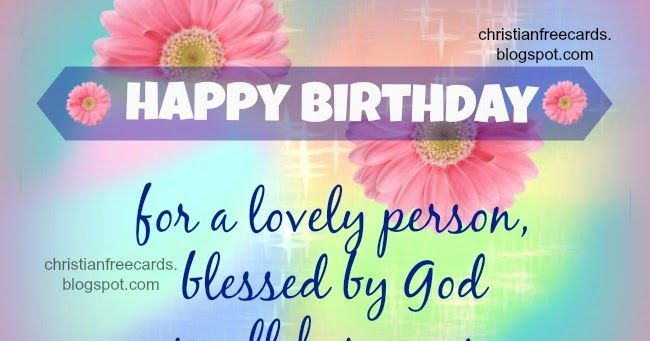 Happy birthday lovely person Godmother with blessed by god