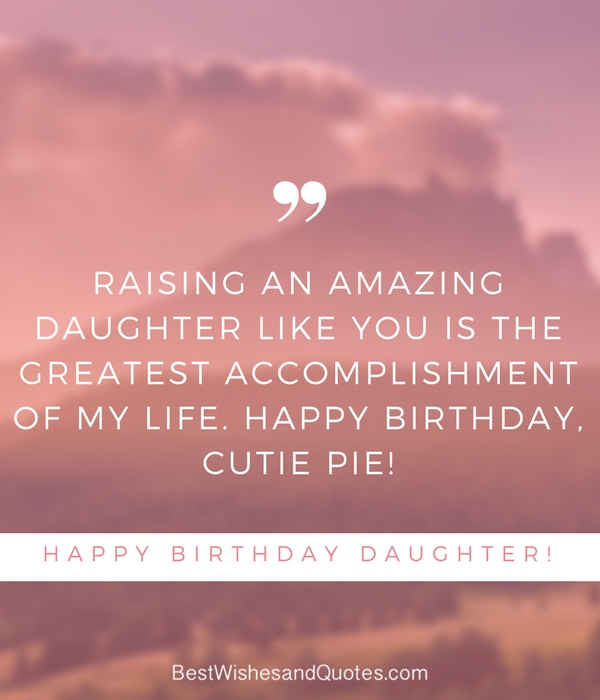 Happy birthday my Daughter wishes from dad