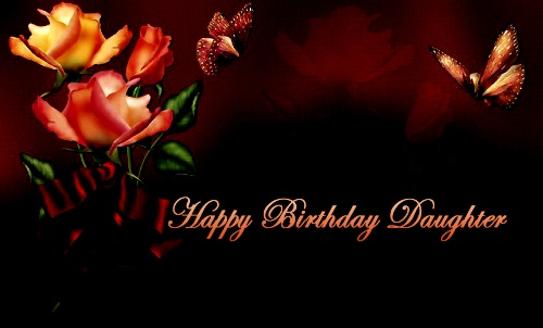 Happy birthday wallpaper for great Daughter wish