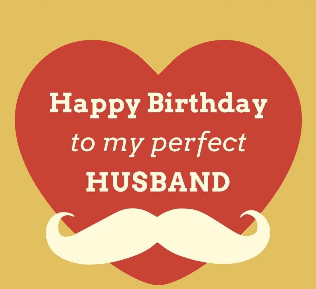 Happy birthday wish heart to dear loving Husband