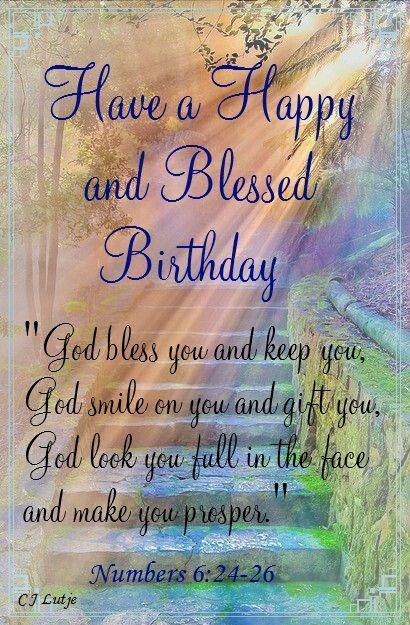 Have a happy and blessed birthday dear Sister from god
