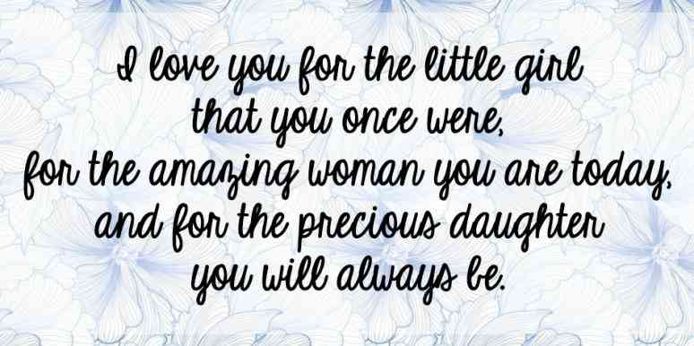 I Love You For Daughter Quotes
