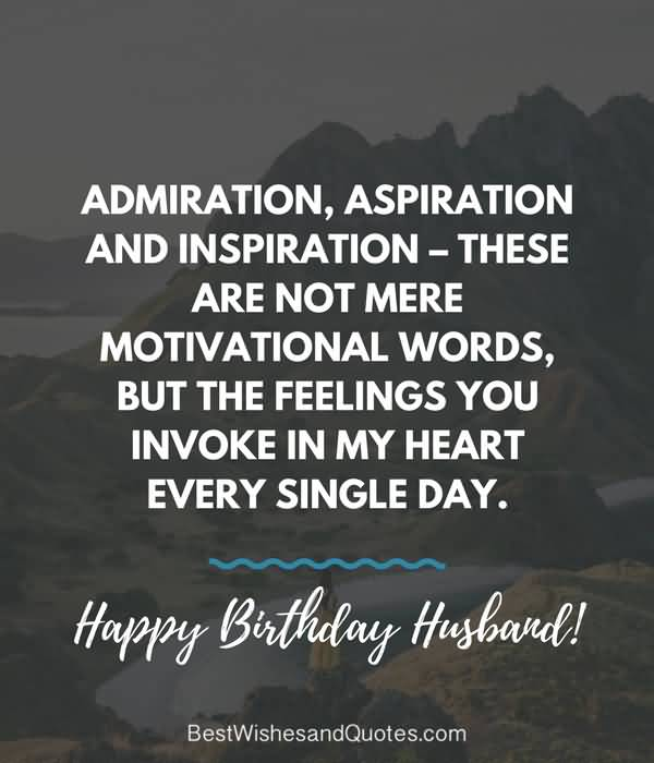 Inspirational happy birthday blessing wish for dear Husband from wife