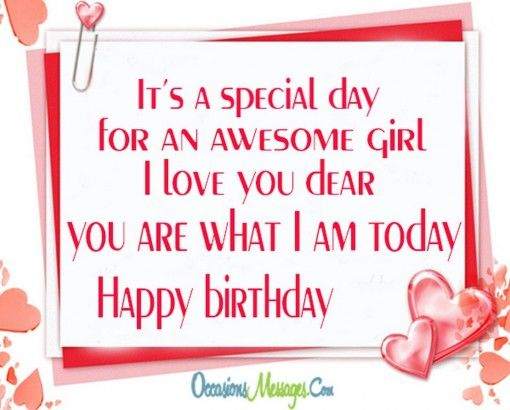 It's a special day for an awesome day wife birthday messages wishes