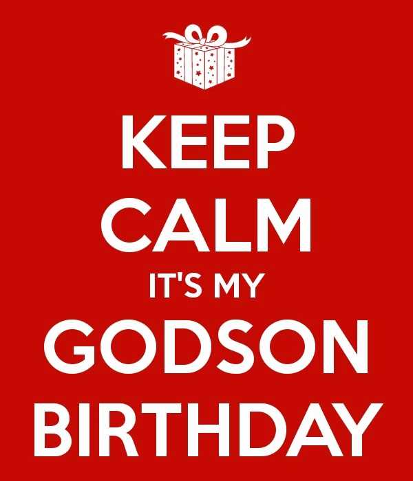 It's my Godson happy birthday from your loving father