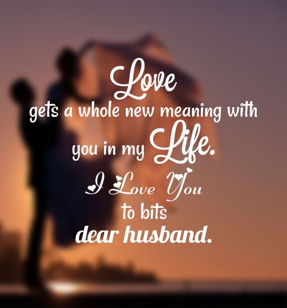 Love gets a whole new meaning with Husband birthday message from your wife