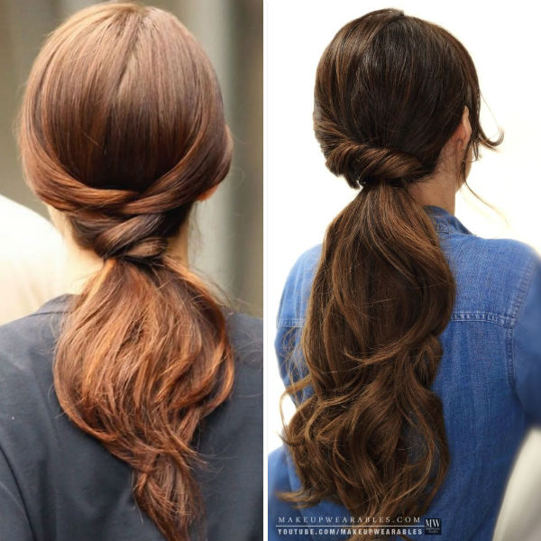 Lovely styles for women Ponytail hairstyle