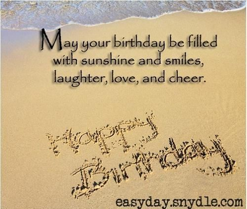 May your birthday be filled with sunshine for love of my life Wife blessing from hubby