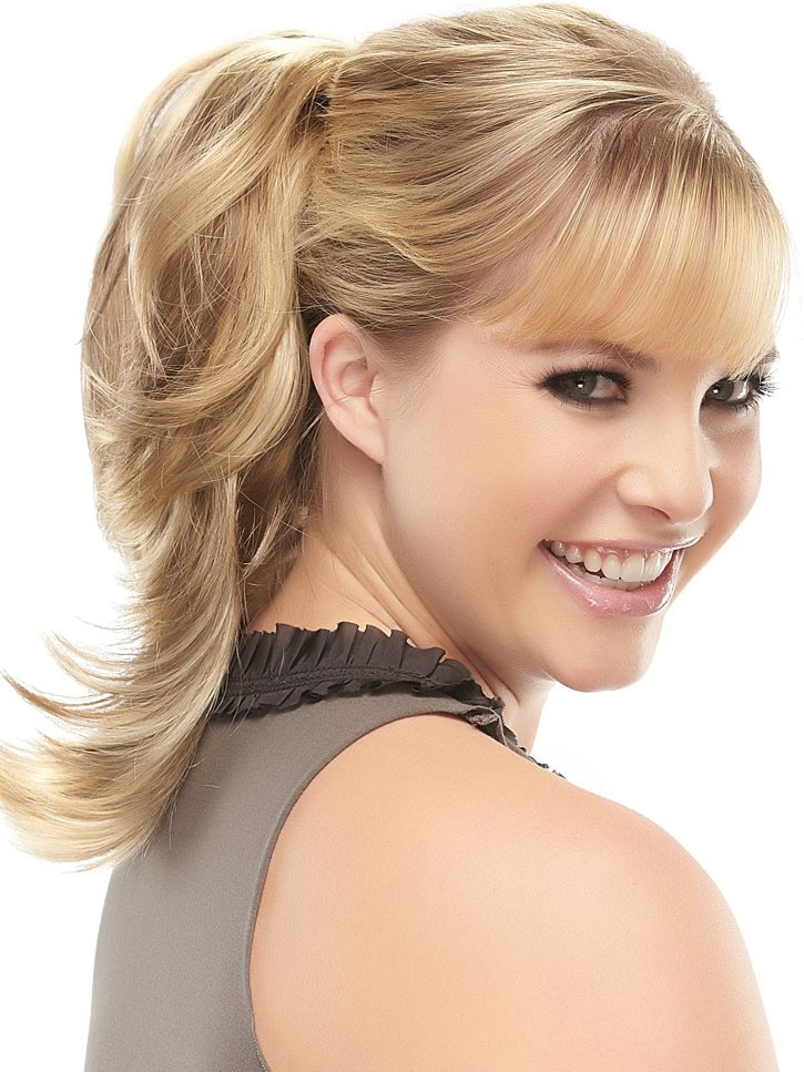 Mind blowing style girlish look Ponytail hairstyle