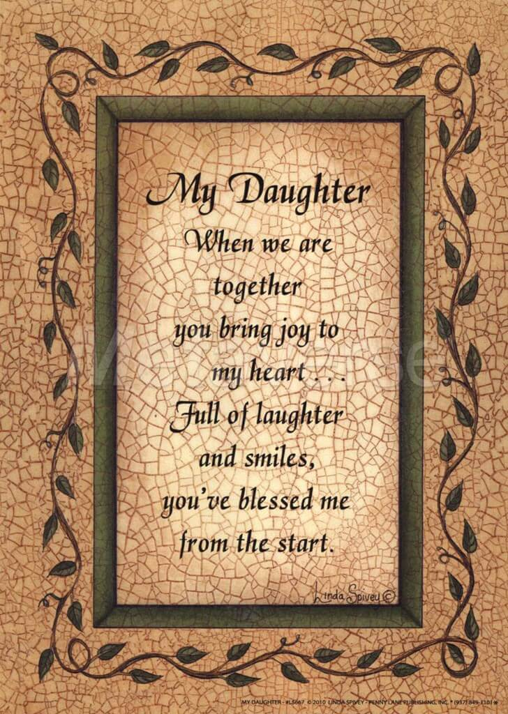My Daughter When We Daughter Quotes