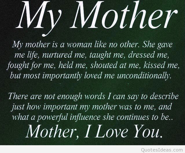 My Mother is a women no like other birthday quote & message on her birthday