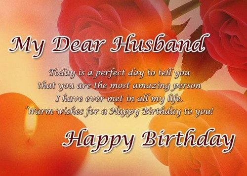 My Dear Husband Best Images About Birthday Wishes With Great Messages
