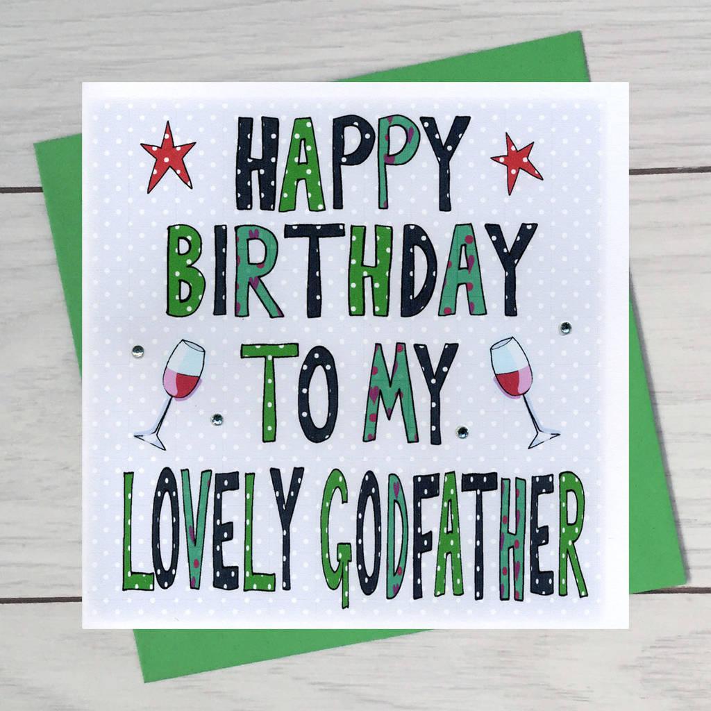 My lovely Godfather happy birthday