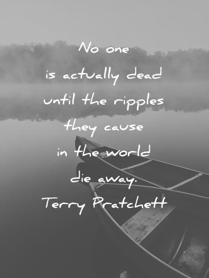 No One Is Actually Death Quotes