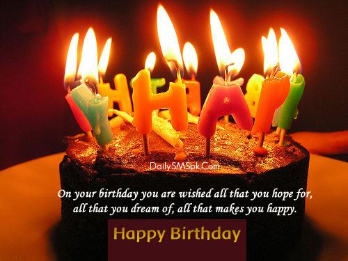 On your birthday my dear Godchild happy birthday cake wish