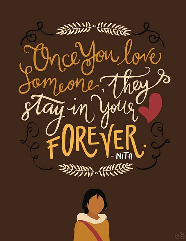 Once You Love Someone Disney Quotes