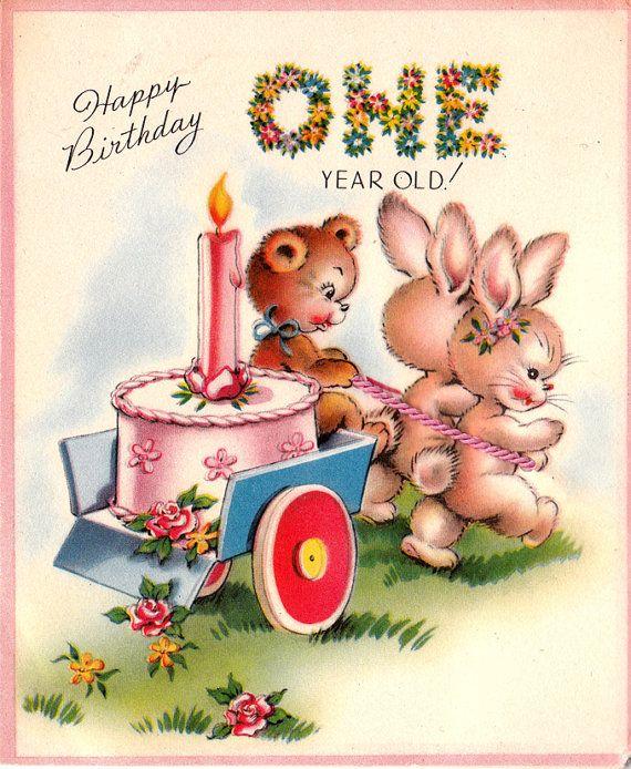 One year old my Godchild happy birthday love father