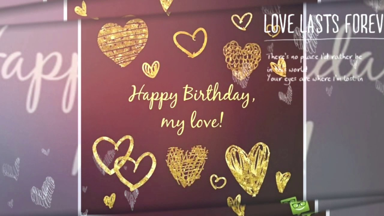 Perfect birthday wallpaper wish for perfect Husband