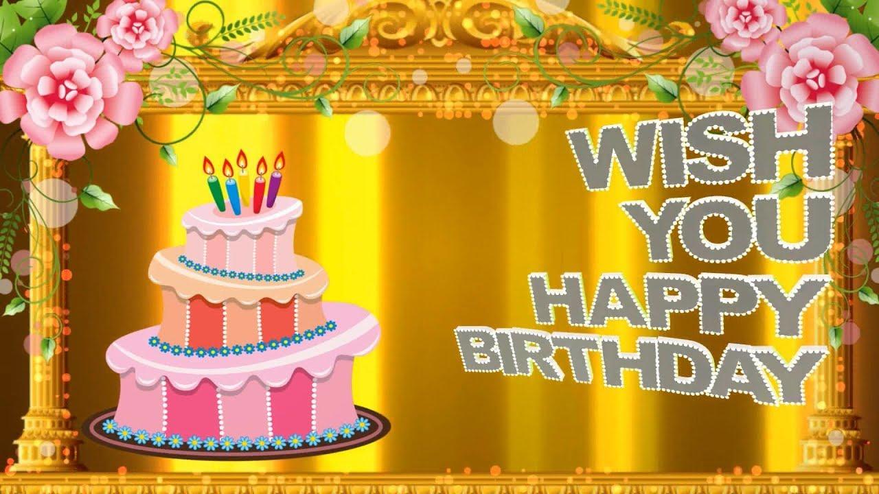 Perfect wishing for Godparents happy birthday celebration
