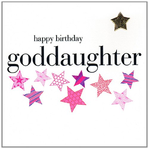 Simply messages happy birthday Goddaughter