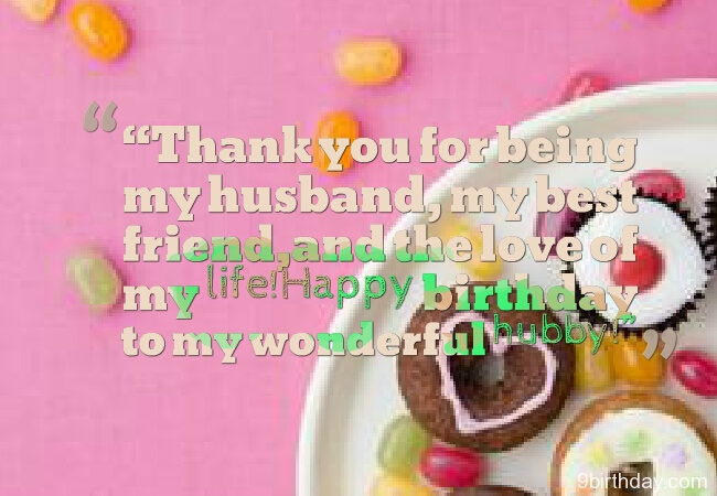 So special birthday message wish for wonderful Husband