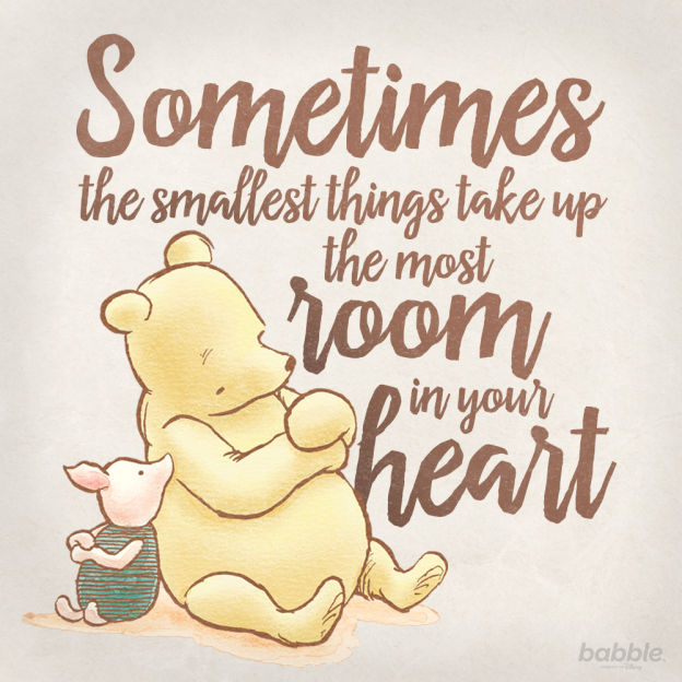 Sometimes The Smallest Things Disney Quotes