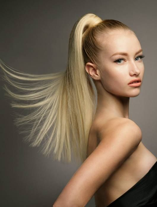 Stunning high style for teenage Ponytail hairstyle