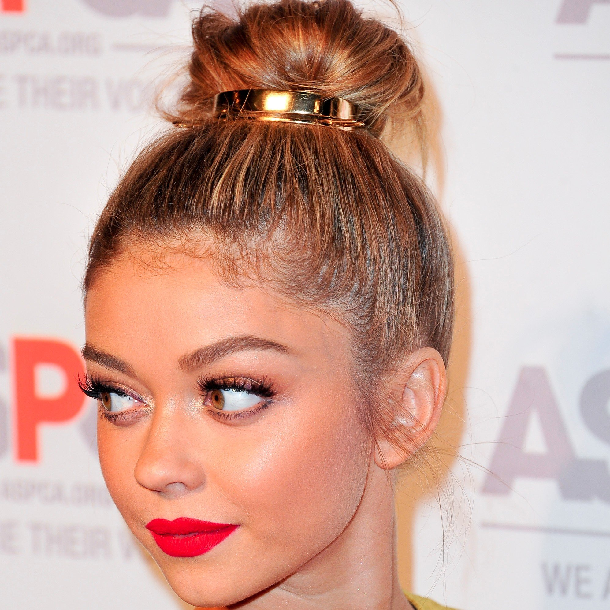 Stylish bun style for party Long Hairstyle