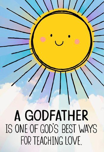 Sun happy birthday wishes Godfather god's best ways for teaching love