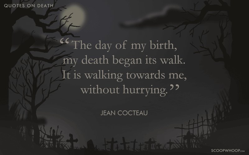 The Day Of My Death Quotes