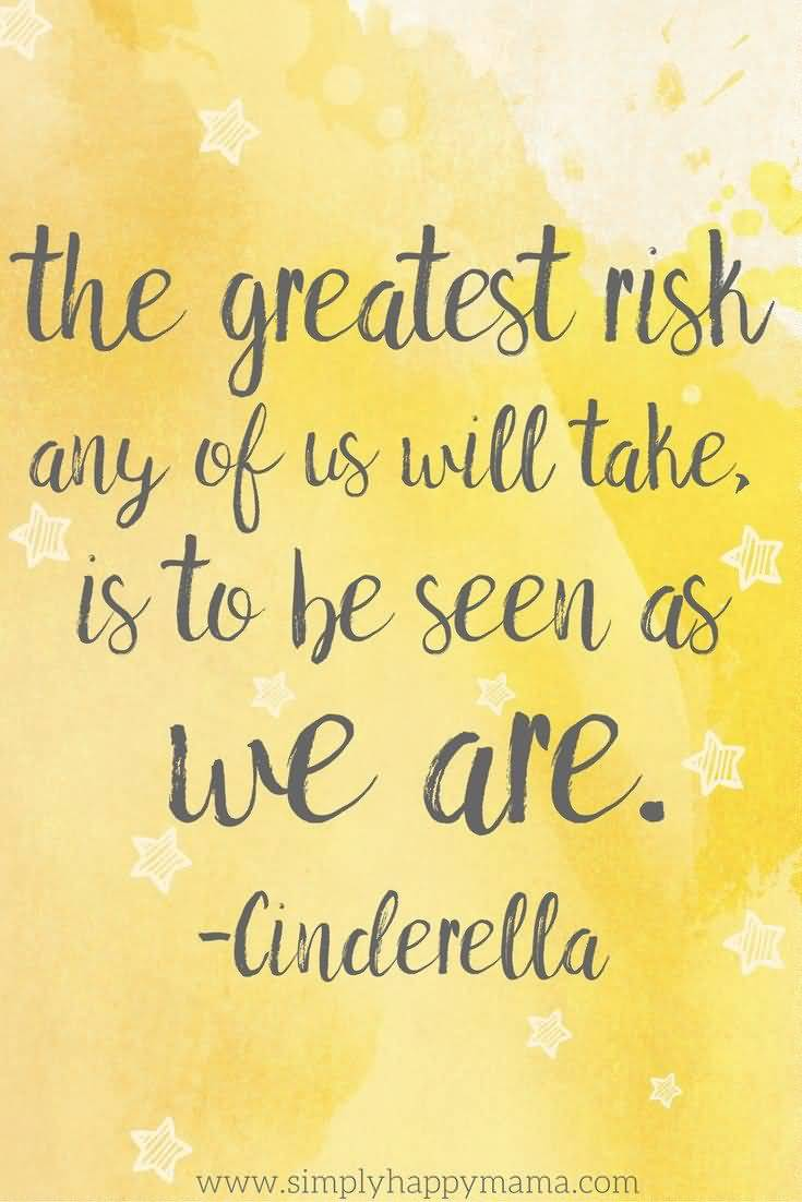 The Greatest Risk Any Disney Quotes