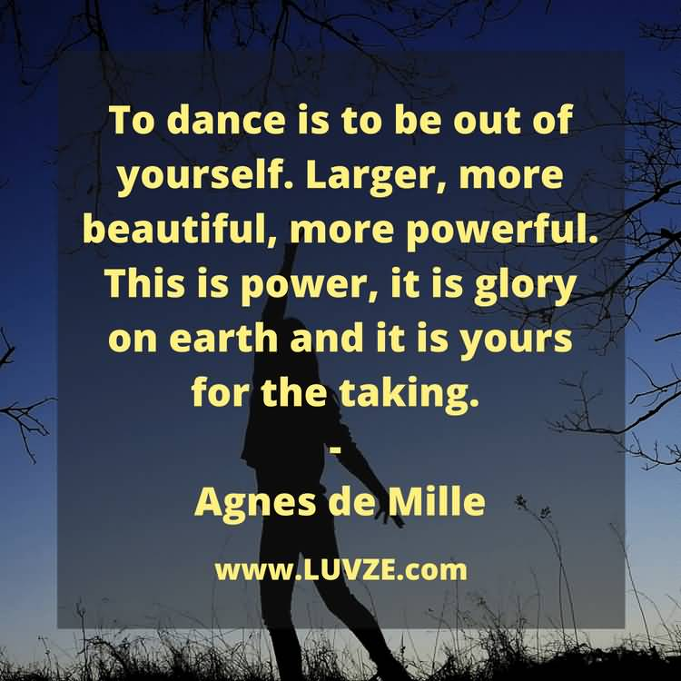 To Dance Is To Dance Quotes