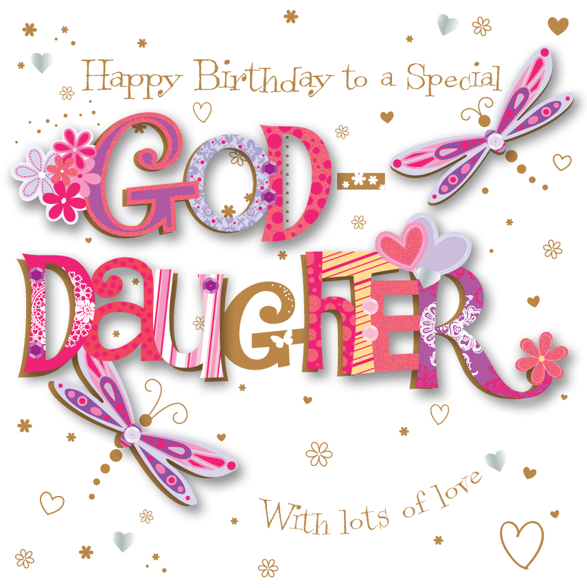 To Special happy birthday for Goddaughter