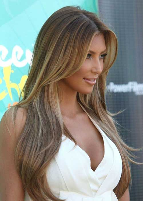 Trendy style for sexy girls Long Hairstyle