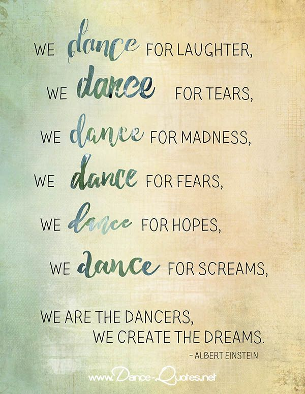 We Dance For Laughter Dance Quotes