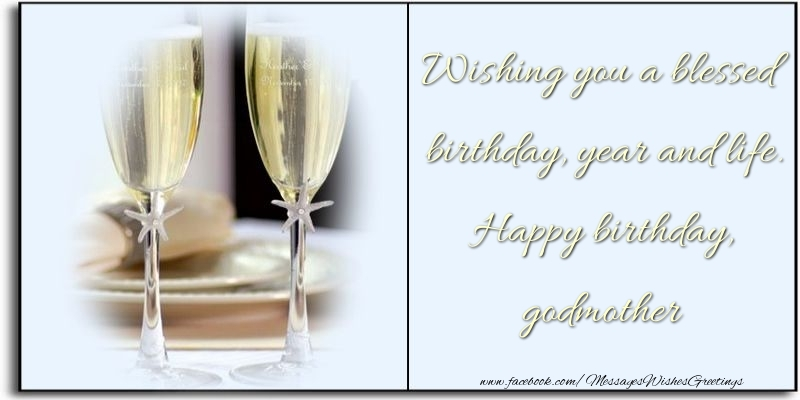 Wishing you a blessed birthday Godmother