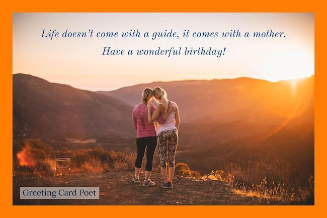 Wonderful greeting cards for dear Mother on her birthday from your daughter