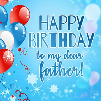 Wonderful wishes for amazing Father from little son