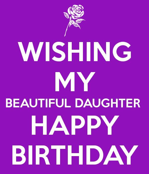 happy birthday greeting card for dear Daughter