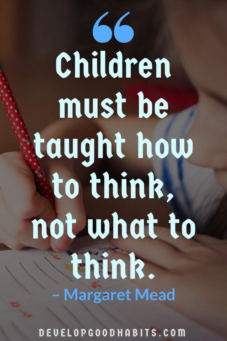 Children Must Be Taught How Education Quotes