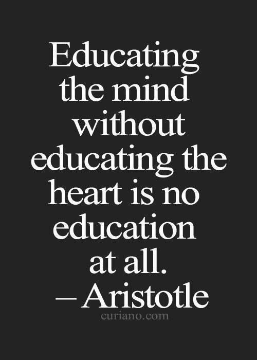 Educating The Mind Without Educating Education Quotes