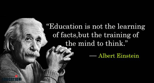 Education Is Not The Learning Education Quotes