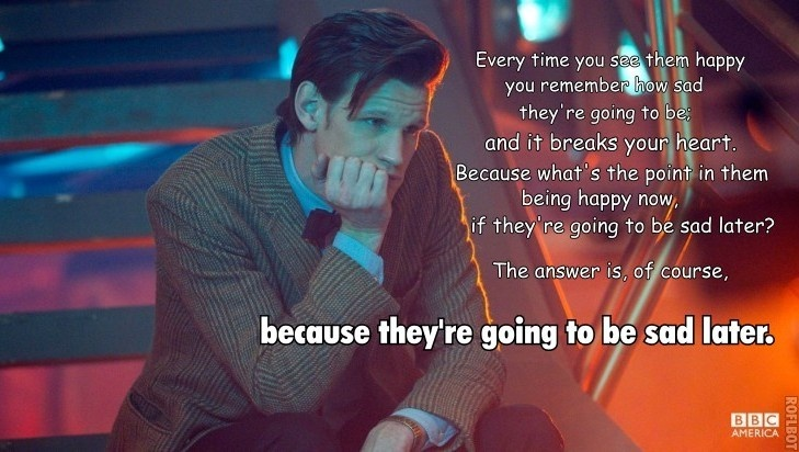 Every Time You See Them Doctor Who TV Show Quotes