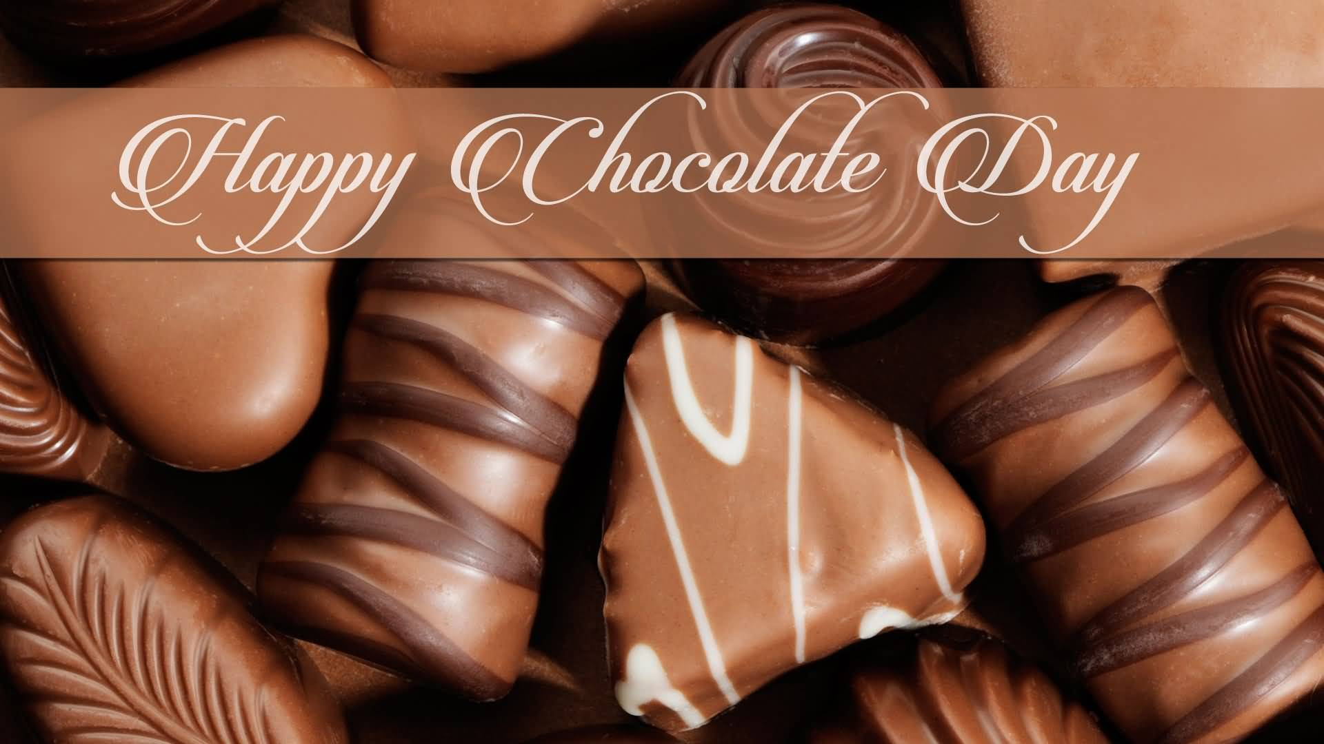 Happy Chocolate Day attractive wallpaper image for your love