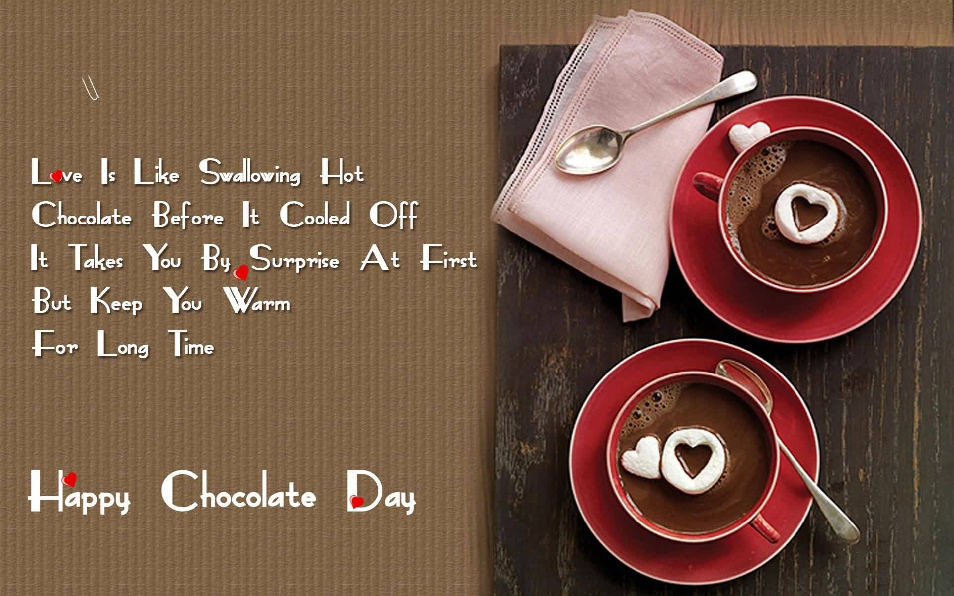 Happy Chocolate Day clear and hd pic for your smart boy