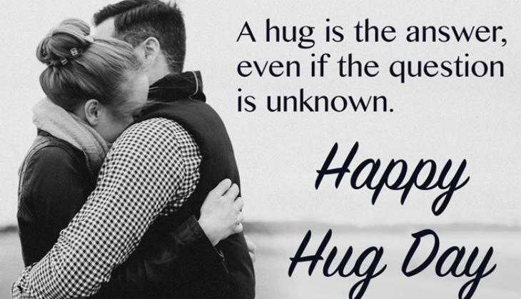 Happy Hug Day A hug is the answer even special images for special person like you