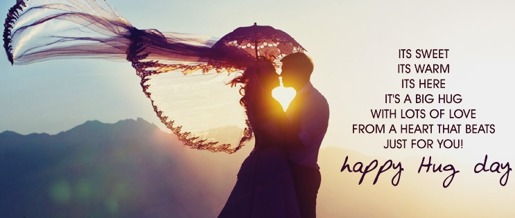 Happy Hug Day Its sweet its warm heart touching messages for your love