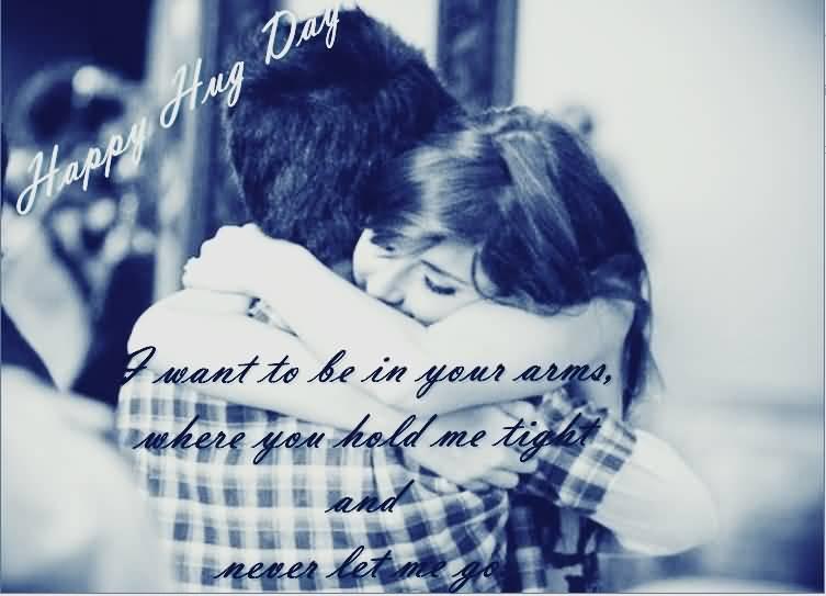 Happy Hug Day fabulous sayings for dear love